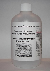Navicular Research Gallium Nitrate Bone and Joint Support  Anti - Inflammatory Pain Relief Equine Formula